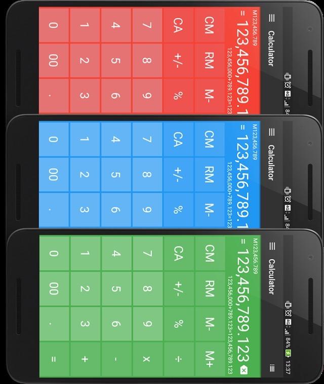 電卓 シンプルで使いやすい無料の計算機アプリのスクリーンショット_3