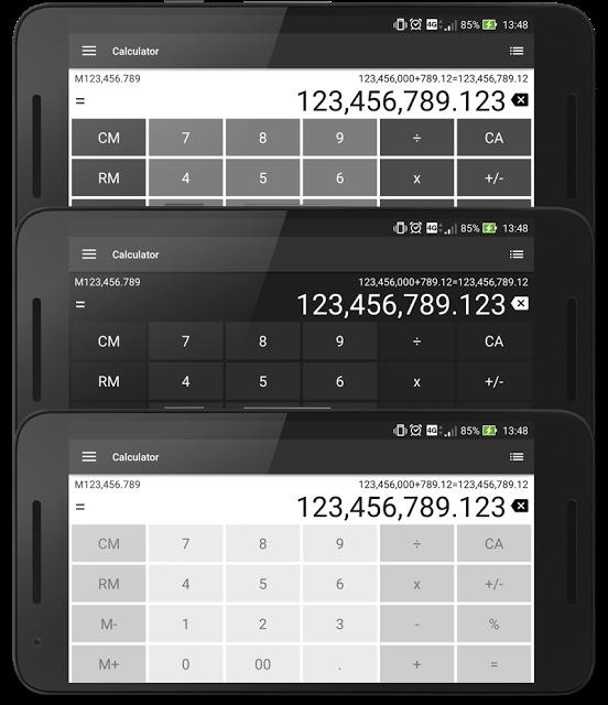 電卓 シンプルで使いやすい無料の計算機アプリのスクリーンショット_5