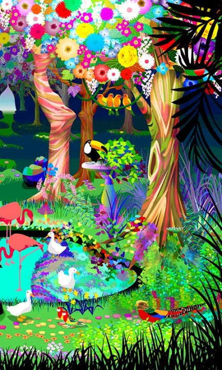bird paradise ライブ壁紙のスクリーンショット_5