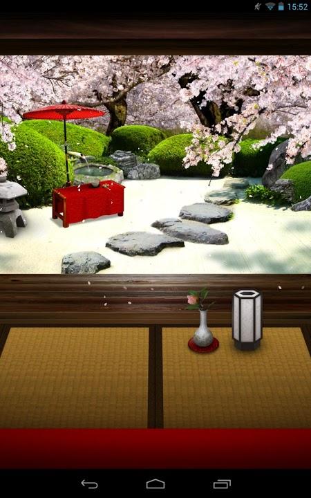 Zen Garden -Spring- ライブ壁紙のスクリーンショット_1