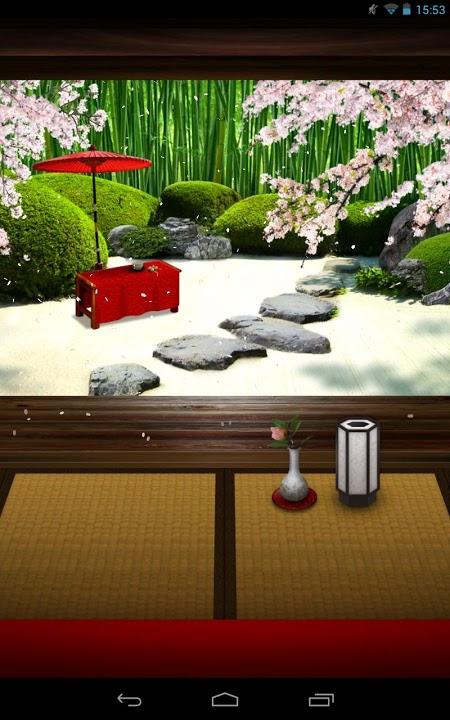Zen Garden -Spring- ライブ壁紙のスクリーンショット_2