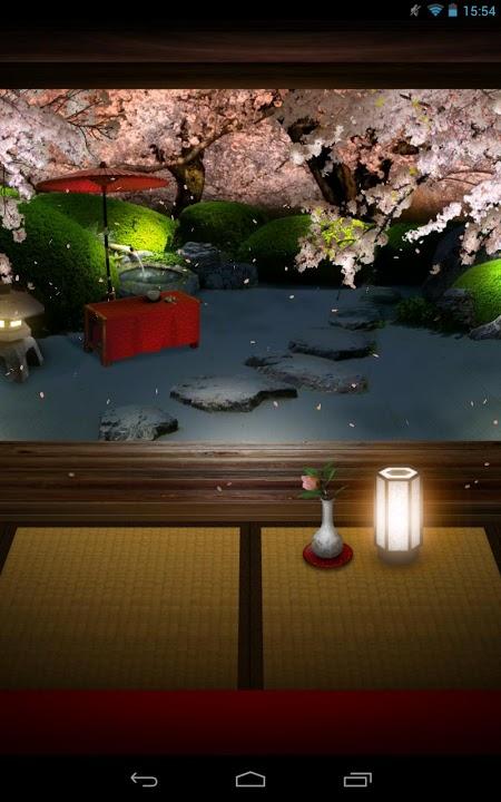 Zen Garden -Spring- ライブ壁紙のスクリーンショット_4