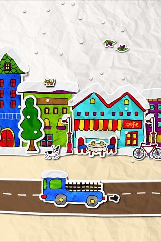 paper town ライブ壁紙のスクリーンショット_1