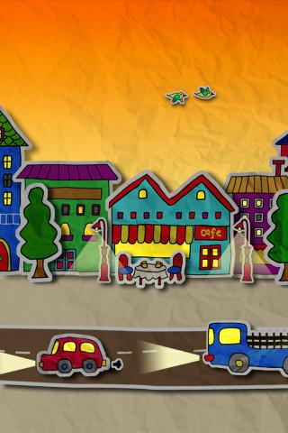 paper town ライブ壁紙のスクリーンショット_5