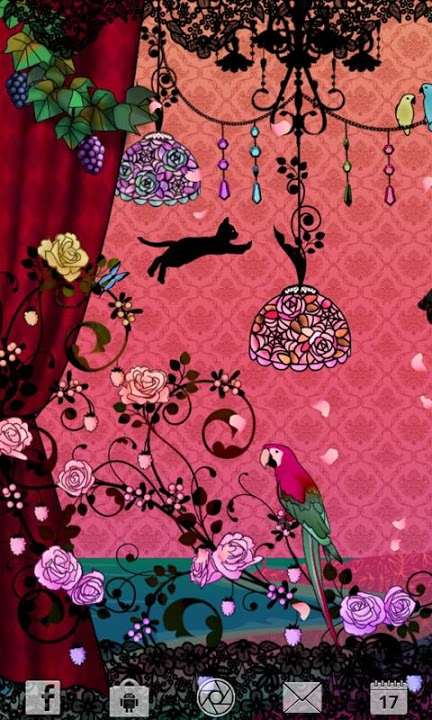Fairy Night Garden ライブ壁紙のスクリーンショット_1