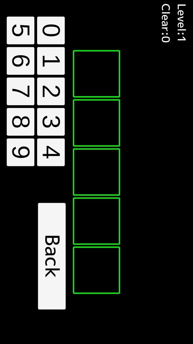FlashNumbersのスクリーンショット_2