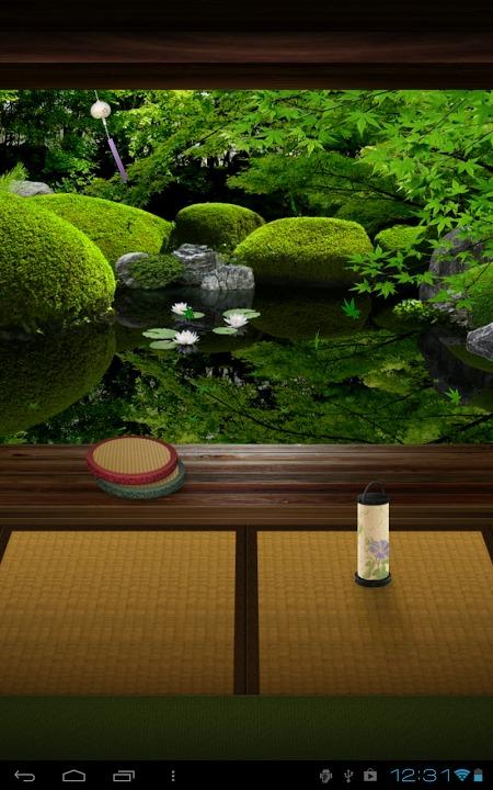 Zen Garden -Summer- ライブ壁紙のスクリーンショット_1