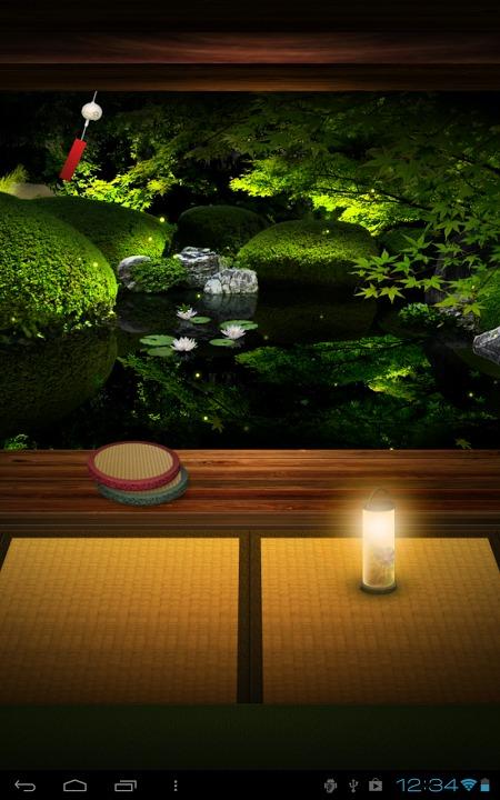 Zen Garden -Summer- ライブ壁紙のスクリーンショット_3