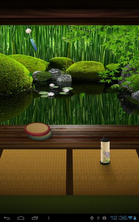 Zen Garden -Summer- ライブ壁紙のスクリーンショット_5