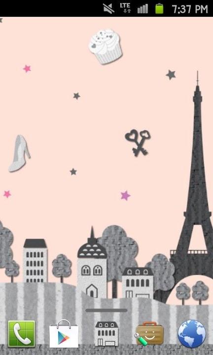 Paris Themeのスクリーンショット_1