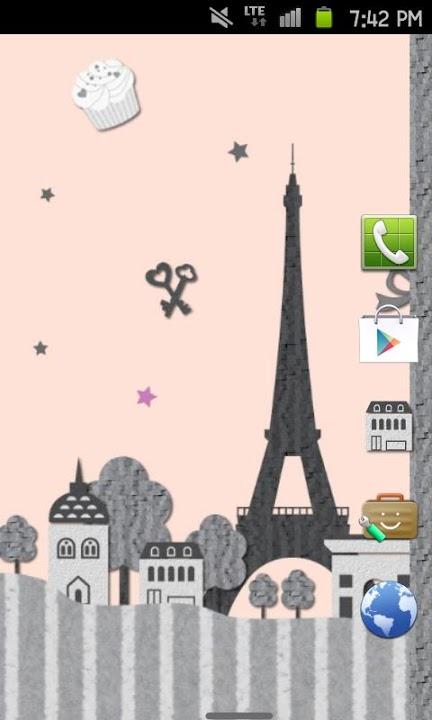 Paris Themeのスクリーンショット_2