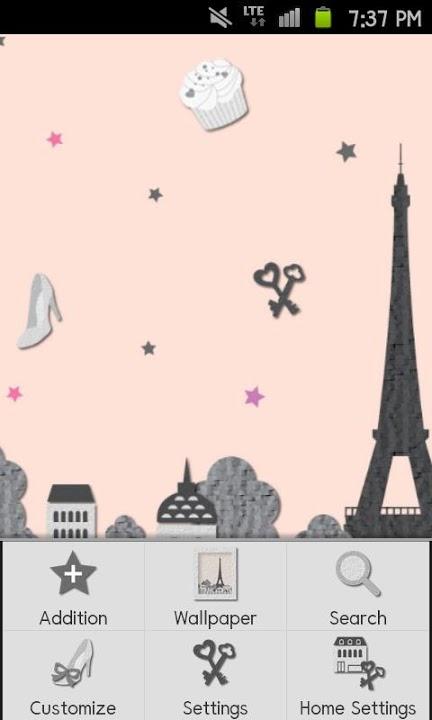Paris Themeのスクリーンショット_3