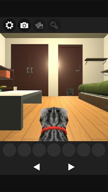 謎解きにゃんこ 隠れたご馳走を奪取せよ!:脱出系謎解きゲームのスクリーンショット_1