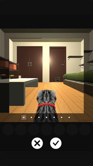 謎解きにゃんこ 隠れたご馳走を奪取せよ!:脱出系謎解きゲームのスクリーンショット_3