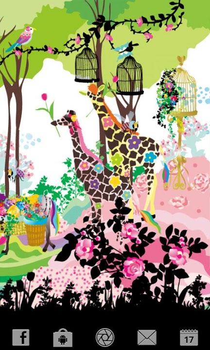 Lovely Florist ライブ壁紙 Freeのスクリーンショット_2
