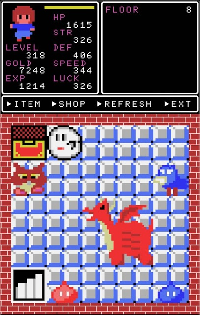 Clicker Tower RPGのスクリーンショット_1