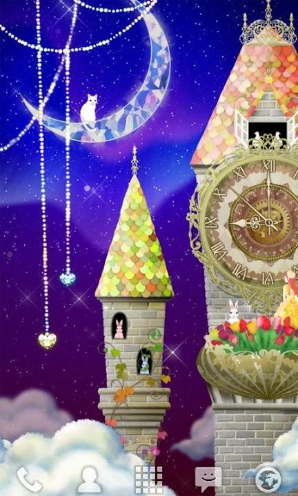 magical clock tower ライブ壁紙のスクリーンショット_1