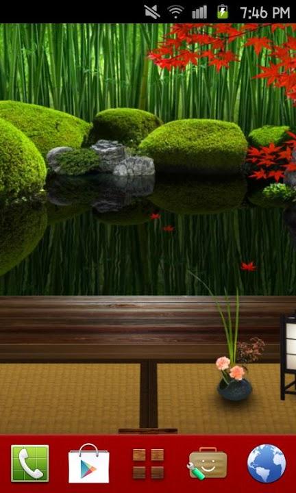 Zen Garden -Fall- Themeのスクリーンショット_1