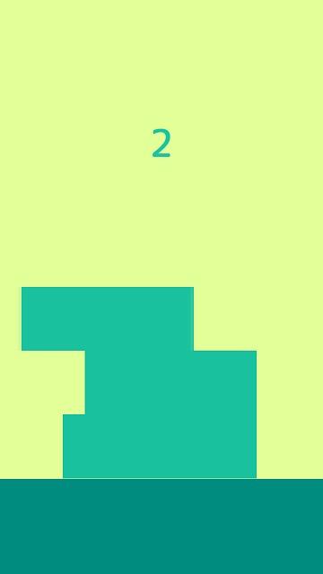 Heap Up! - タッチで積み上げカジュアルゲームのスクリーンショット_1