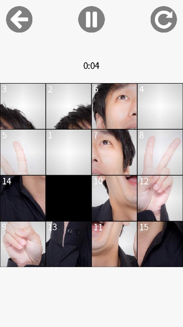 スライド15パズルのスクリーンショット_4