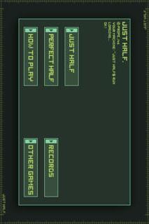 JUST HALFのスクリーンショット_3