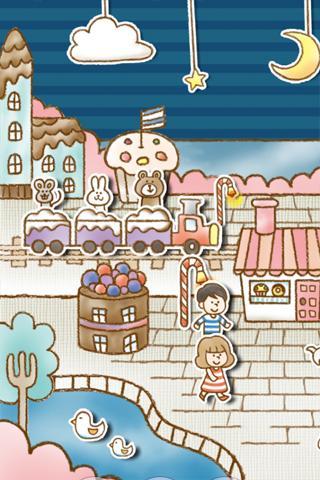 Sweets Shop ライブ壁紙のスクリーンショット_3