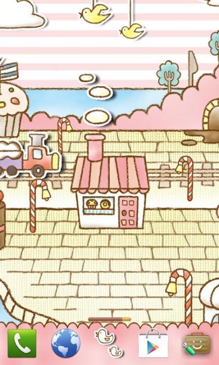 Sweets Shop Themeのスクリーンショット_1