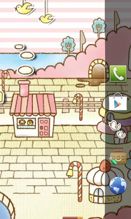 Sweets Shop Themeのスクリーンショット_2
