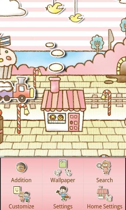 Sweets Shop Themeのスクリーンショット_3