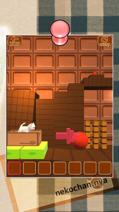 脱出ゲーム 猫ゴラスの装置のスクリーンショット_2