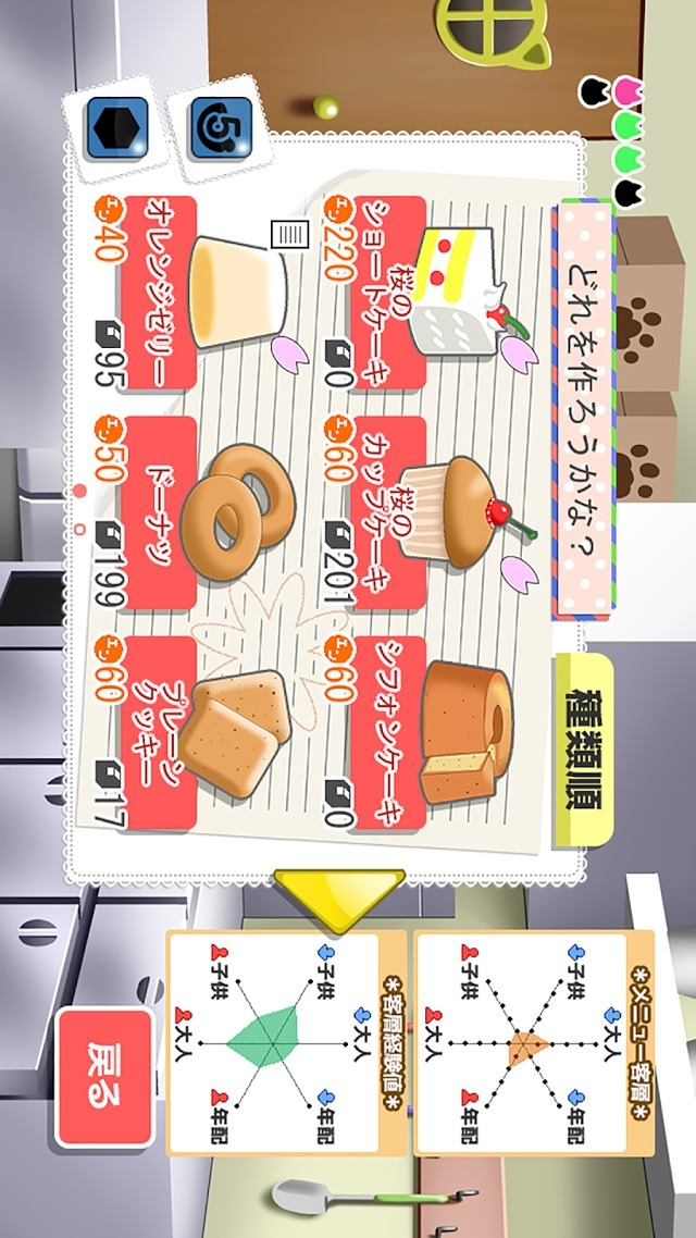 にゃっほい店長のケーキ屋さんのスクリーンショット_1