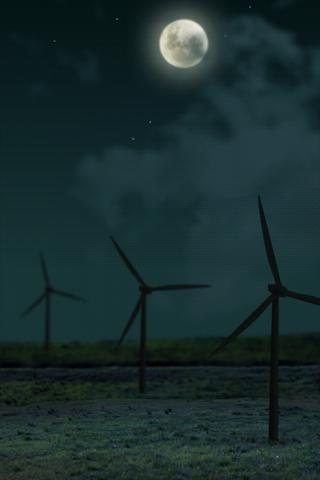 風の吹く風景 ライブ壁紙のスクリーンショット_2