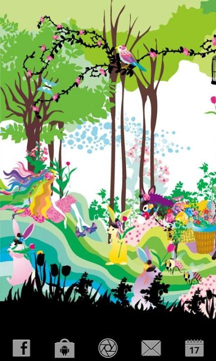 Lovely Florist ライブ壁紙のスクリーンショット_1