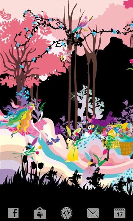 Lovely Florist ライブ壁紙のスクリーンショット_3