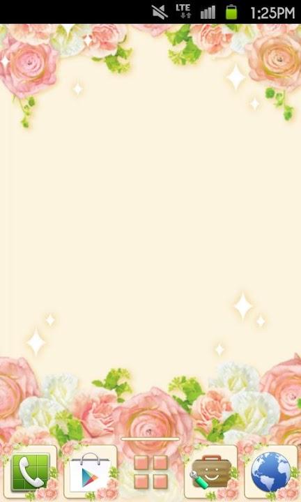 Rose Garden Themeのスクリーンショット_1