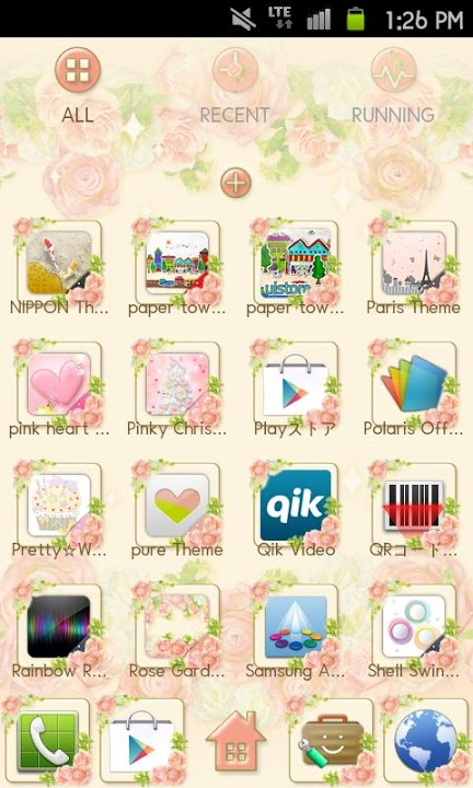 Rose Garden Themeのスクリーンショット_3