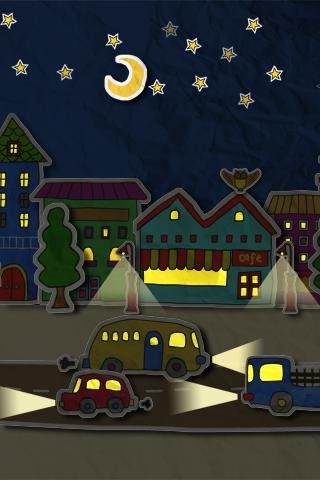 paper town 3Dライブ壁紙のスクリーンショット_2