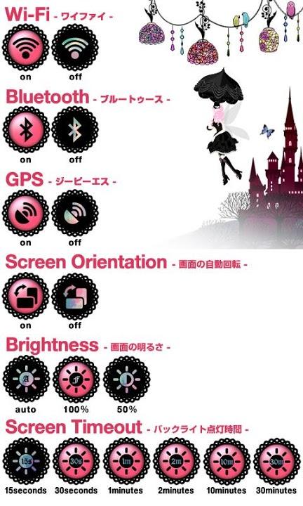 Fairy Night Garden Widgetのスクリーンショット_2