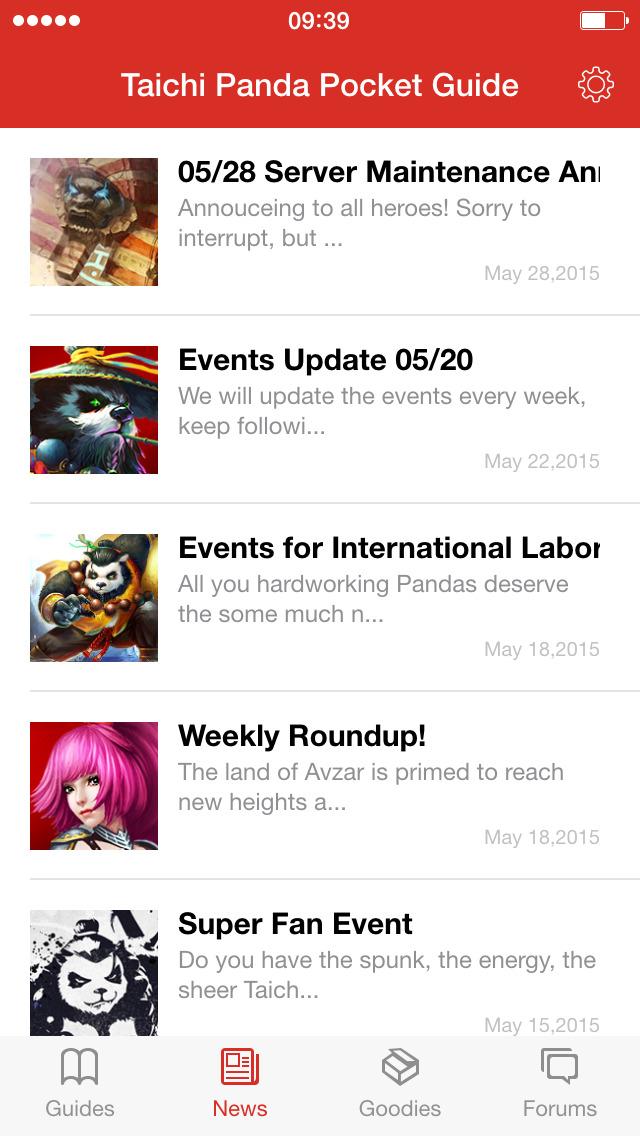 Taichi Panda Pocket Guideのスクリーンショット_2