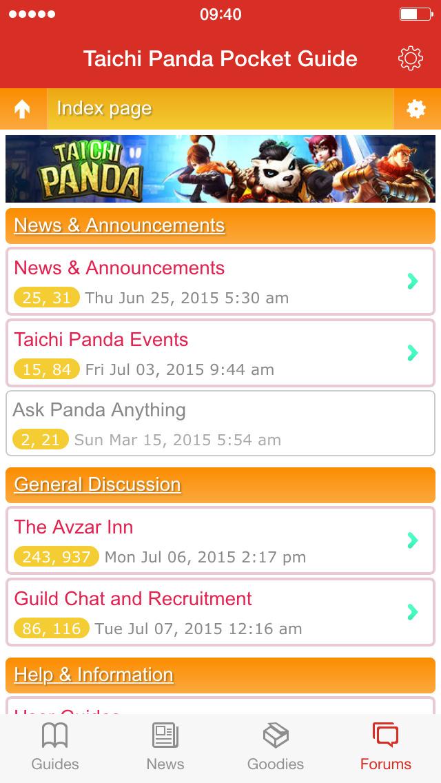 Taichi Panda Pocket Guideのスクリーンショット_4