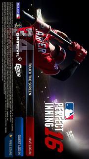 MLB パーフェクトイニング16のスクリーンショット_1