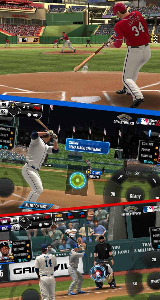 MLB パーフェクトイニング16のスクリーンショット_2