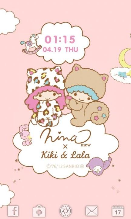 Ninamew × Kiki&Lala ライブ壁紙のスクリーンショット_1