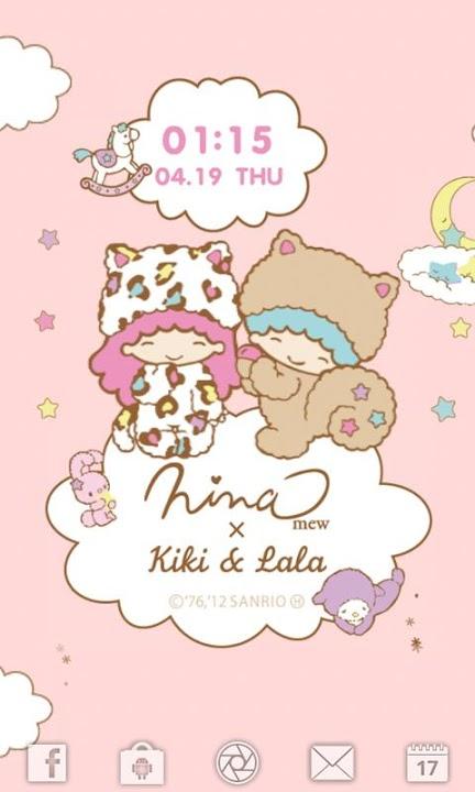 Ninamew × Kiki&Lala ライブ壁紙のスクリーンショット_2