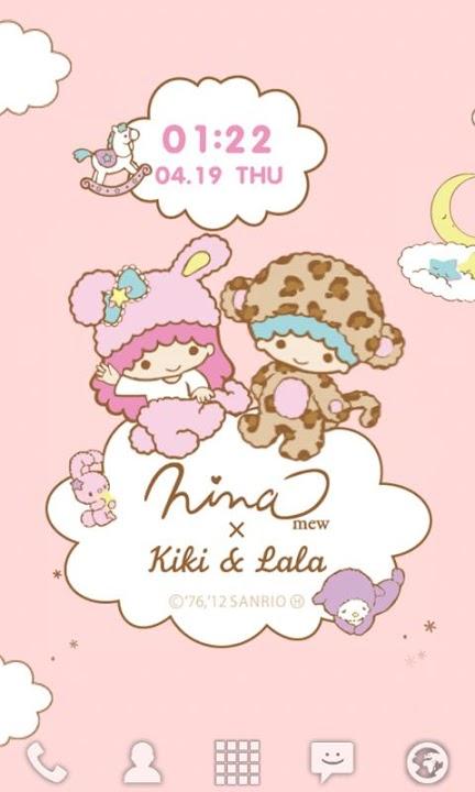 Ninamew × Kiki&Lala ライブ壁紙のスクリーンショット_3