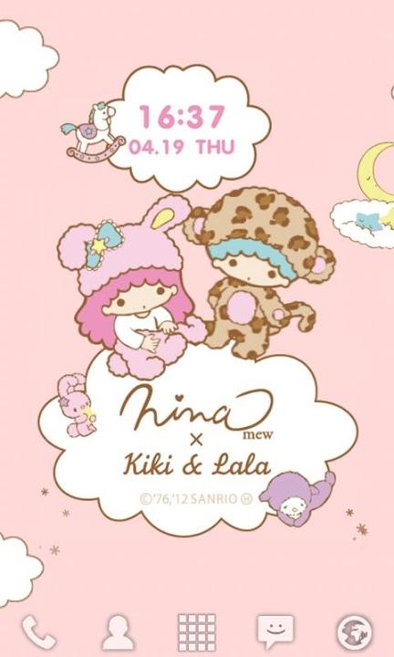 Ninamew × Kiki&Lala ライブ壁紙のスクリーンショット_4