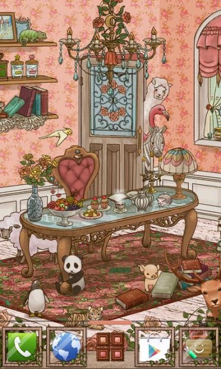 antique room Themeのスクリーンショット_1