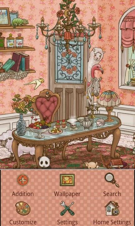 antique room Themeのスクリーンショット_3