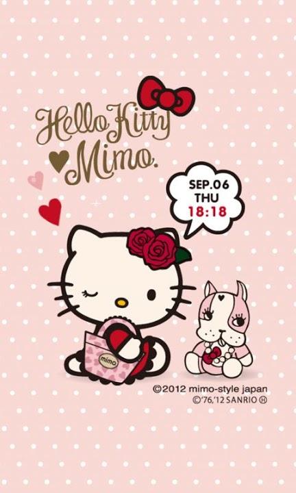 mimo.×HELLO KITTY ライブ壁紙のスクリーンショット_1