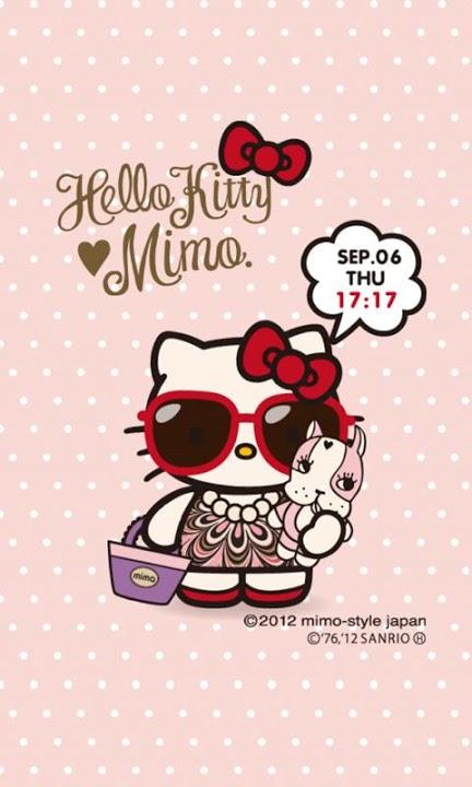 mimo.×HELLO KITTY ライブ壁紙のスクリーンショット_2